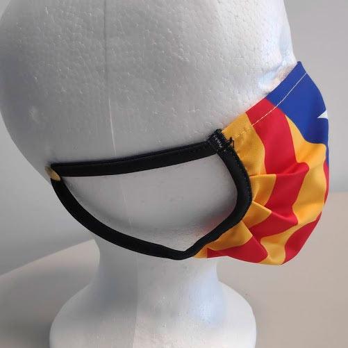 mascarilla bandera independencia Cataluña