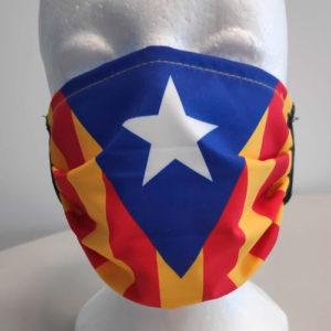mascarilla independencia Catalunya