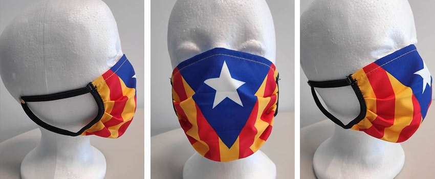 mascareta independència Catalunya