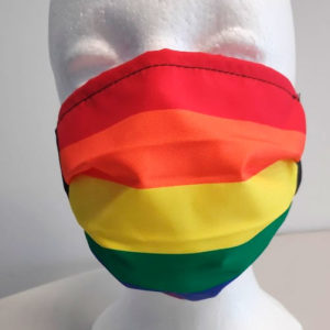 mascarilla arcoiris LGBT