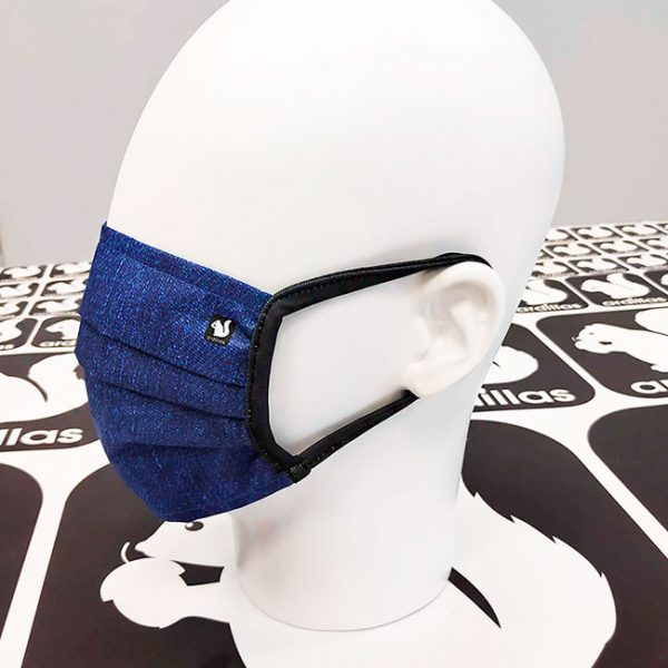 Mascarillas lavables Denim en azul