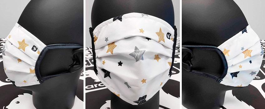 Mascarillas lavables diseño Star