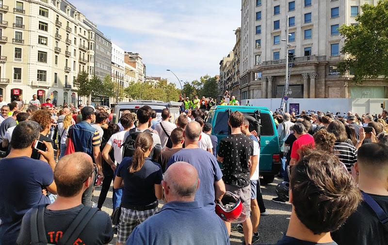 leído de manifiesto PARC Barcelona