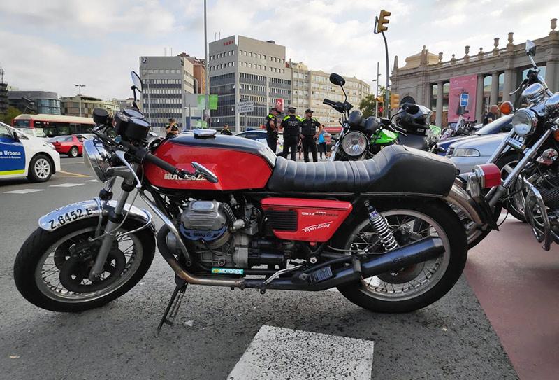 Moto Guzzi en Barcelona
