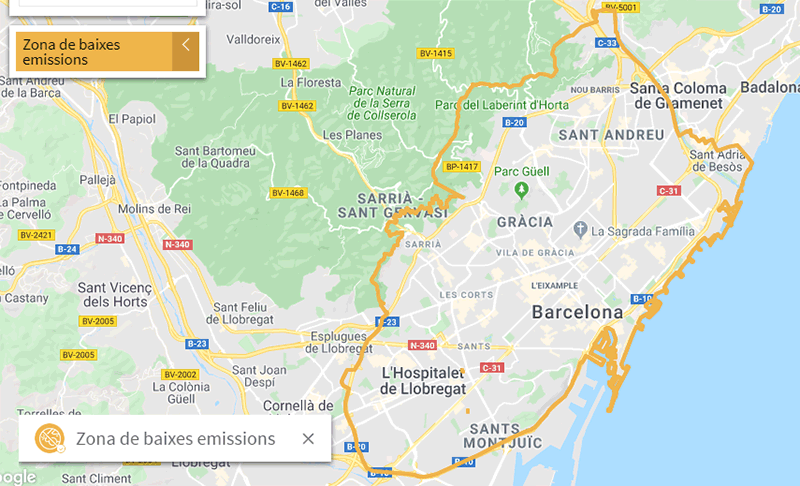 ZBE de Barcelona
