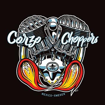 Corzo Choppers México Suecia
