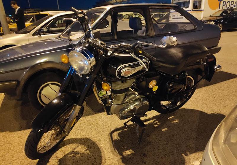 moto afectada ASOCPARC