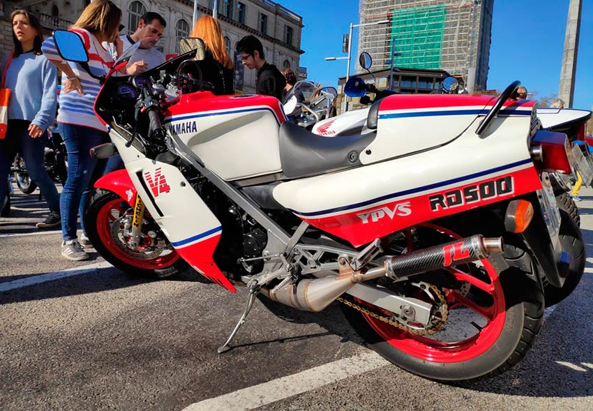 Yamaha RD 500 en Barcelona