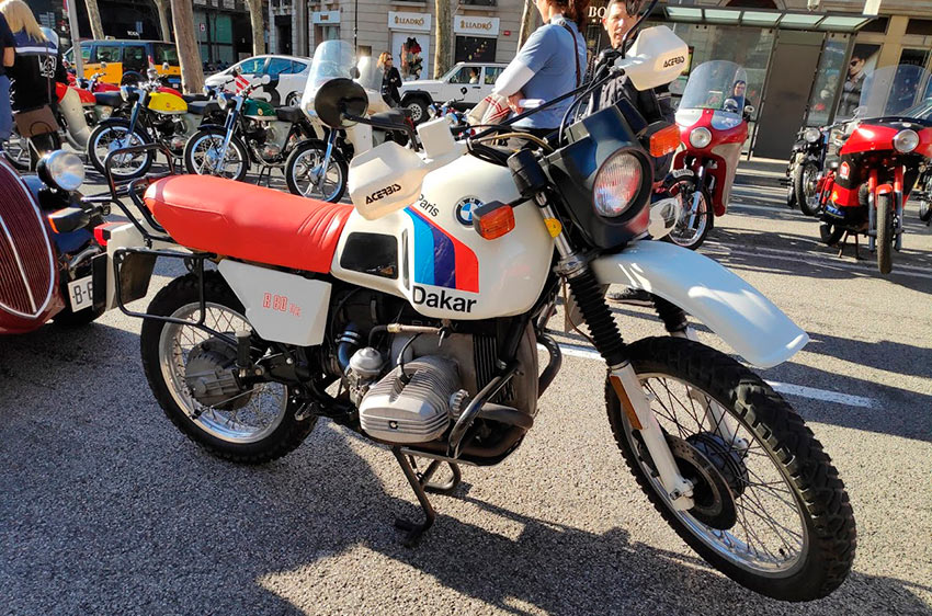 moto BMW Paris Dakar